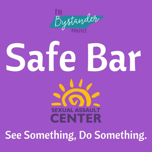Safe Bar Logo - English